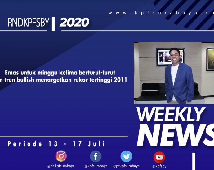 WEEKLY NEWS PEDIODE 13 - 17 JULI 2020